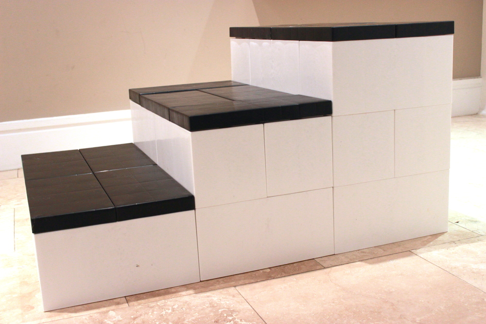 Modular steps and awards podiums