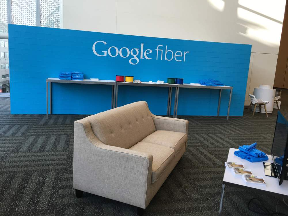EverBlock display for Google Fiber