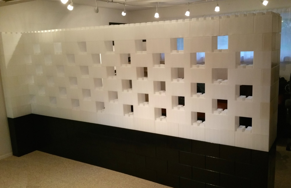 Modern modular wall