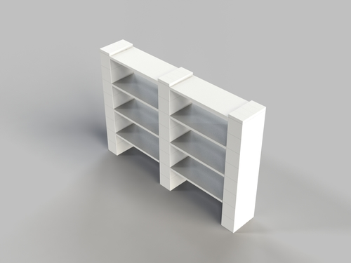 review shelf is from express furniture row double bookcase this axis bo fr oak