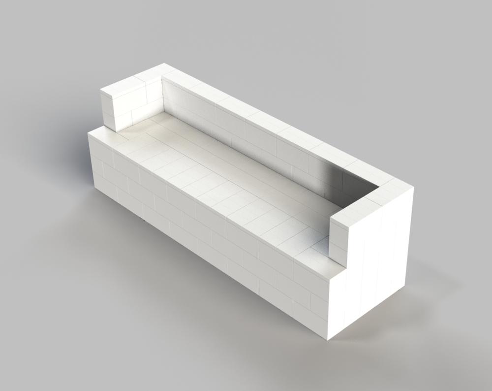 8ft Sofa