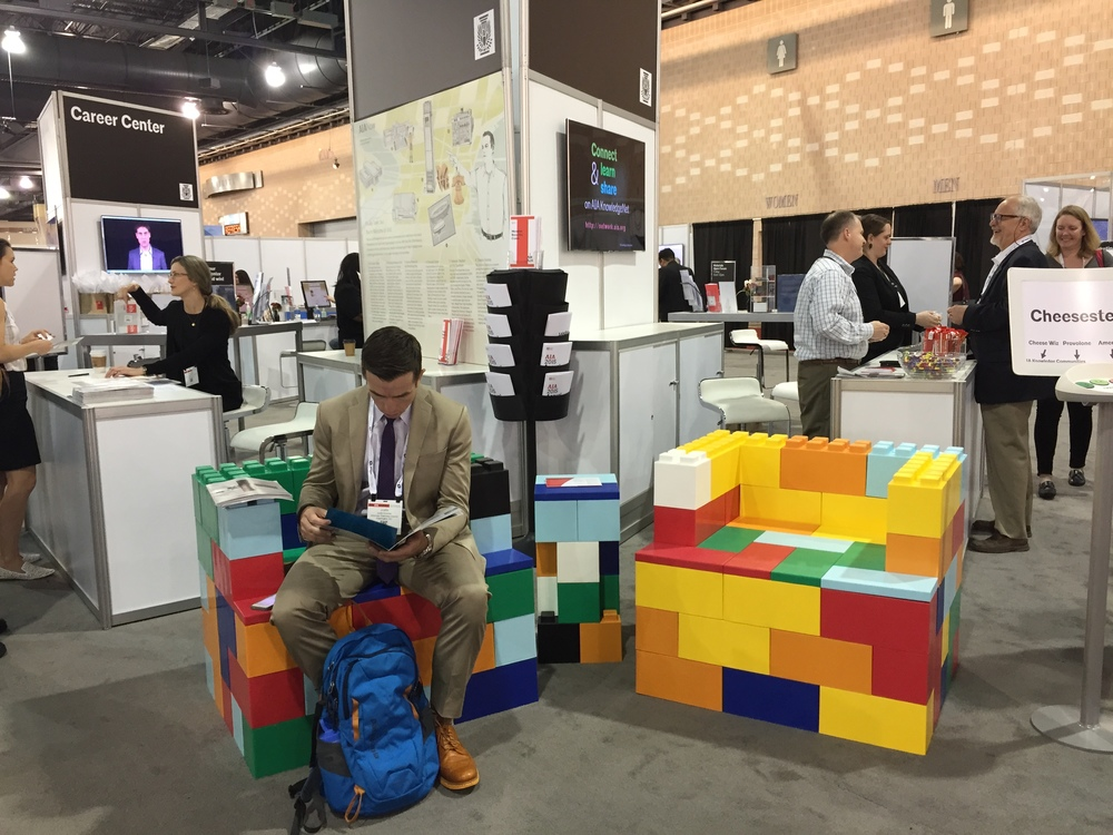 Create eye-catching seating for trade shows and exhibits