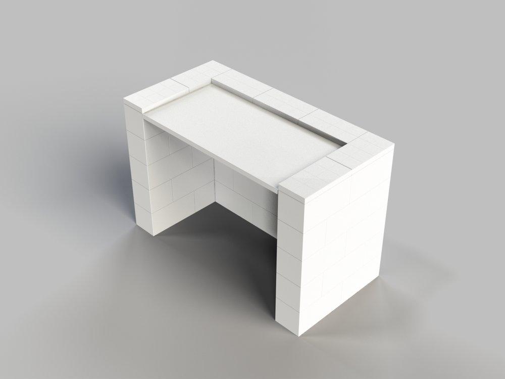 4ft Simplicity Desk