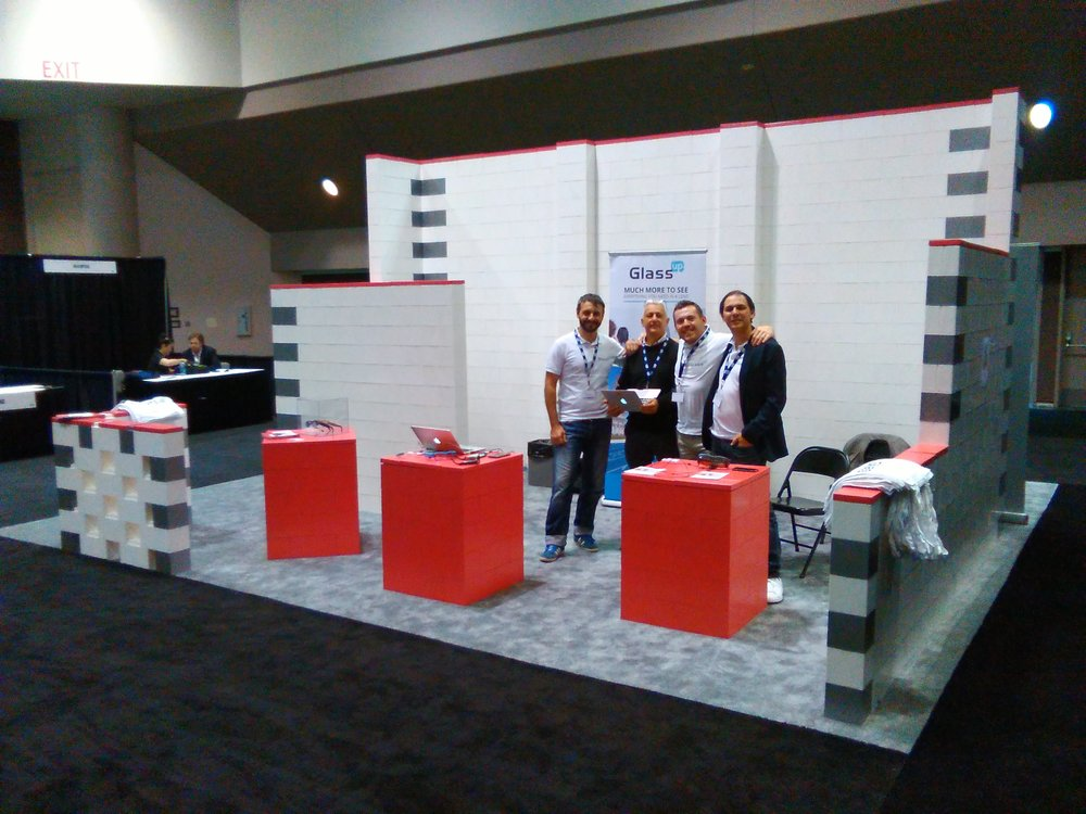 Create backdrops, display plinths, sales tables, and pony wall at your next exhibit