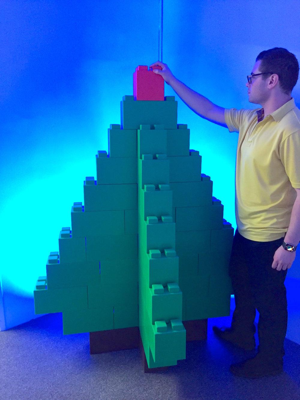 modular christmas tree