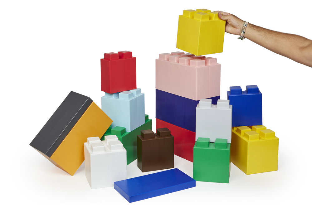 The EverBlock system is a unique building block system that is ideal for building all types of life-sized objects.