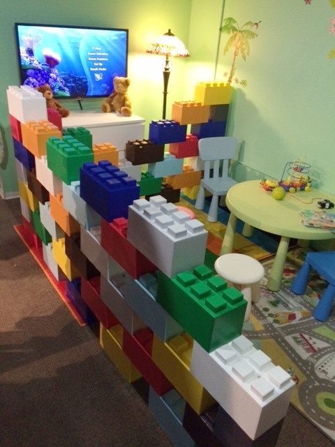 Play area wall