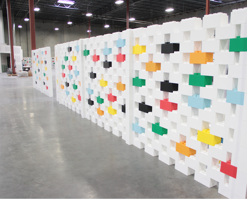 Create beautiful room dividers and modular walls for residential and industrial uses.