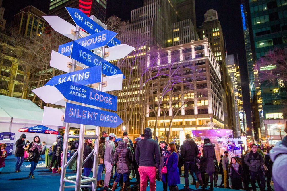 (Photo Credit: Bryant Park - http://wintervillage.org/visit/wintercarnival)