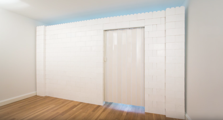 EverBlock 7' x 7' Wall Kit with Door