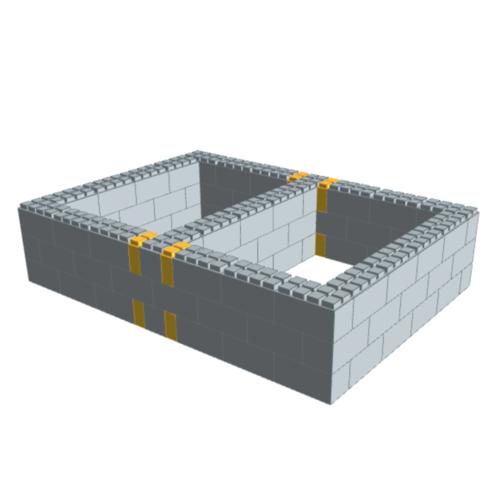Queen Bed Frame Kit — EverBlock