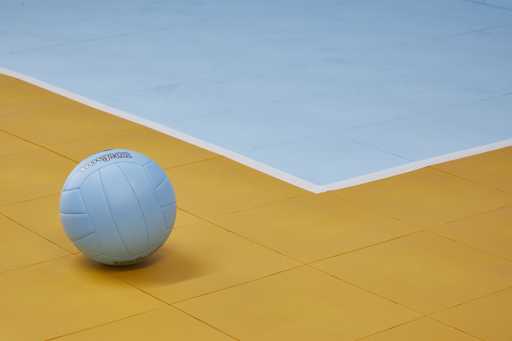 Create beautiful garage floors, game courts and sports courts