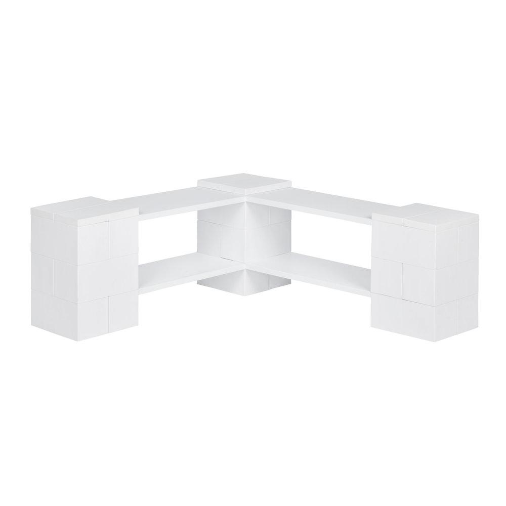 2 Level Corner Shelving Kit A
