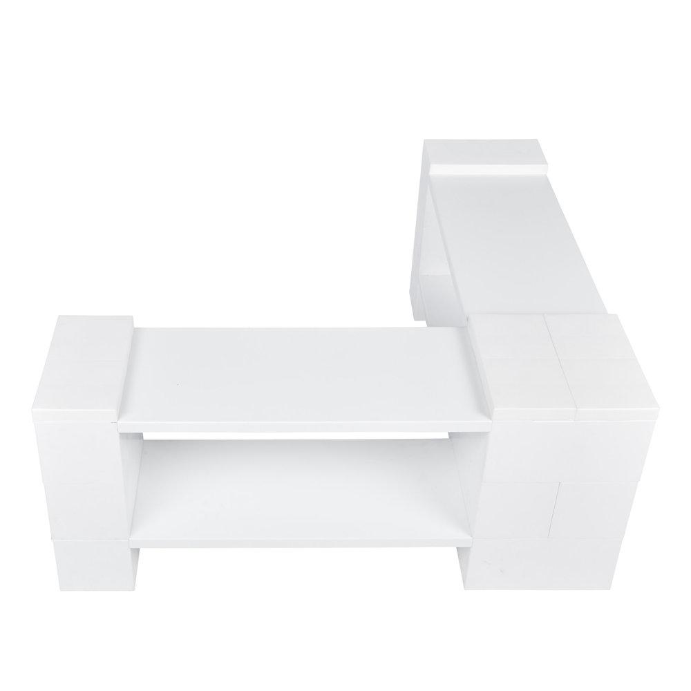 2 Level Corner Shelving Kit B