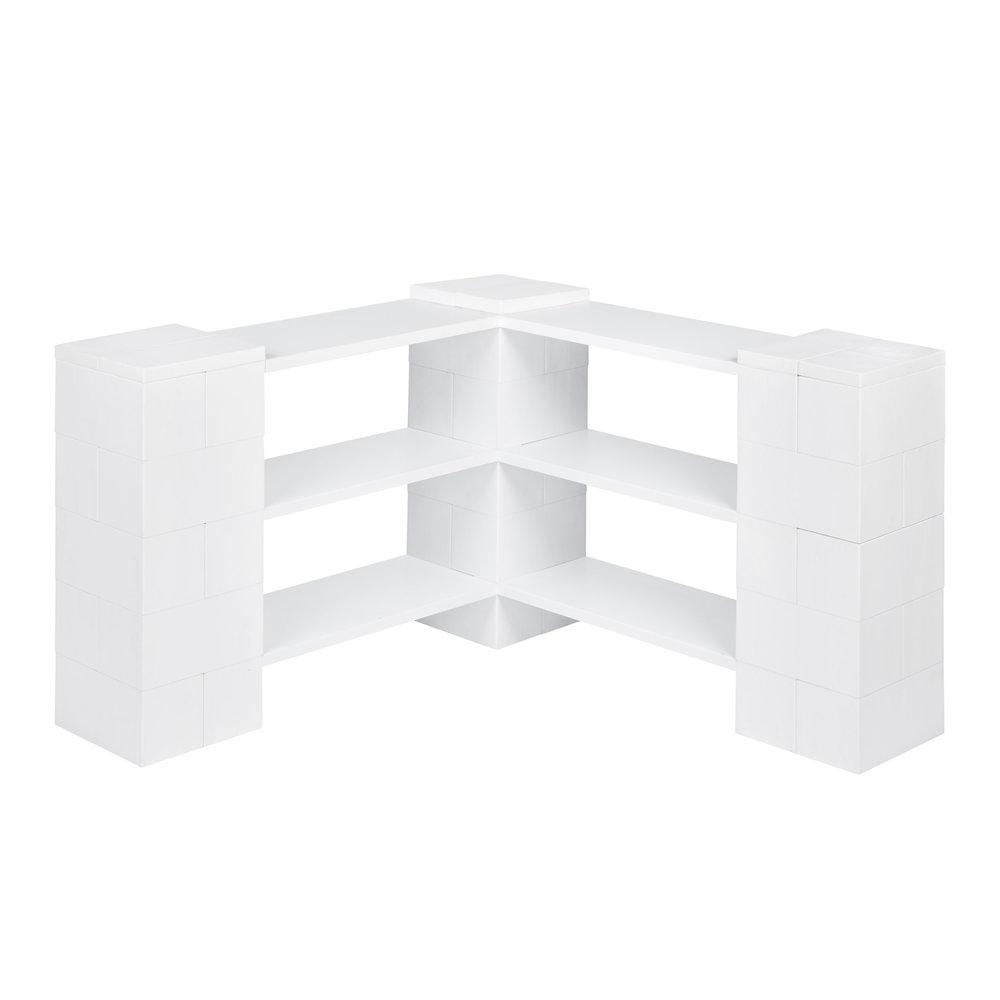 3 Level Corner Shelving Kit A