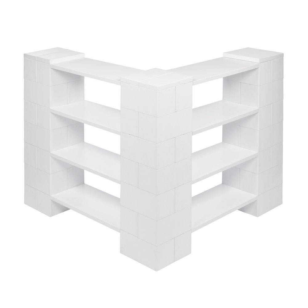 4 Level Corner Shelving Kit A