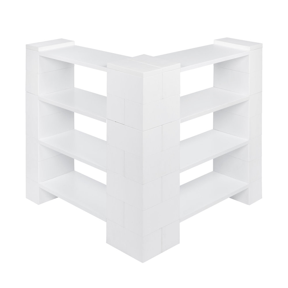 4 Level Corner Shelving Kit B