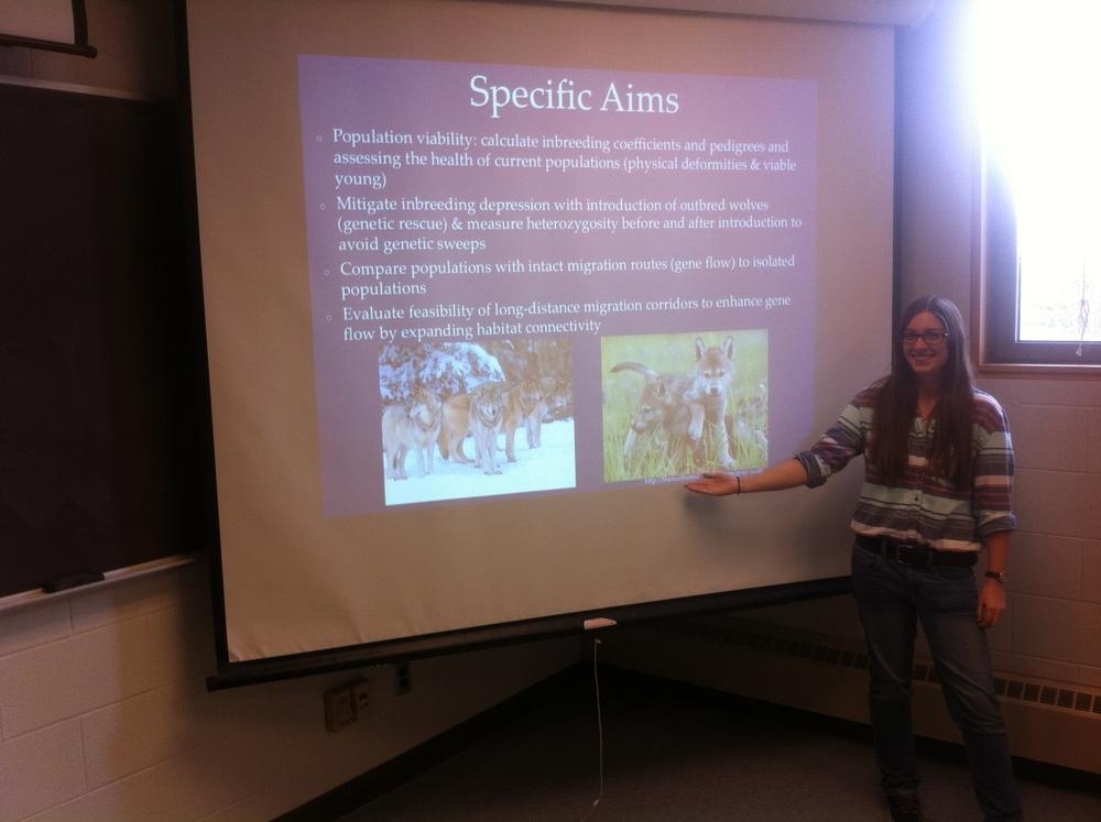 Grant proposal presentation