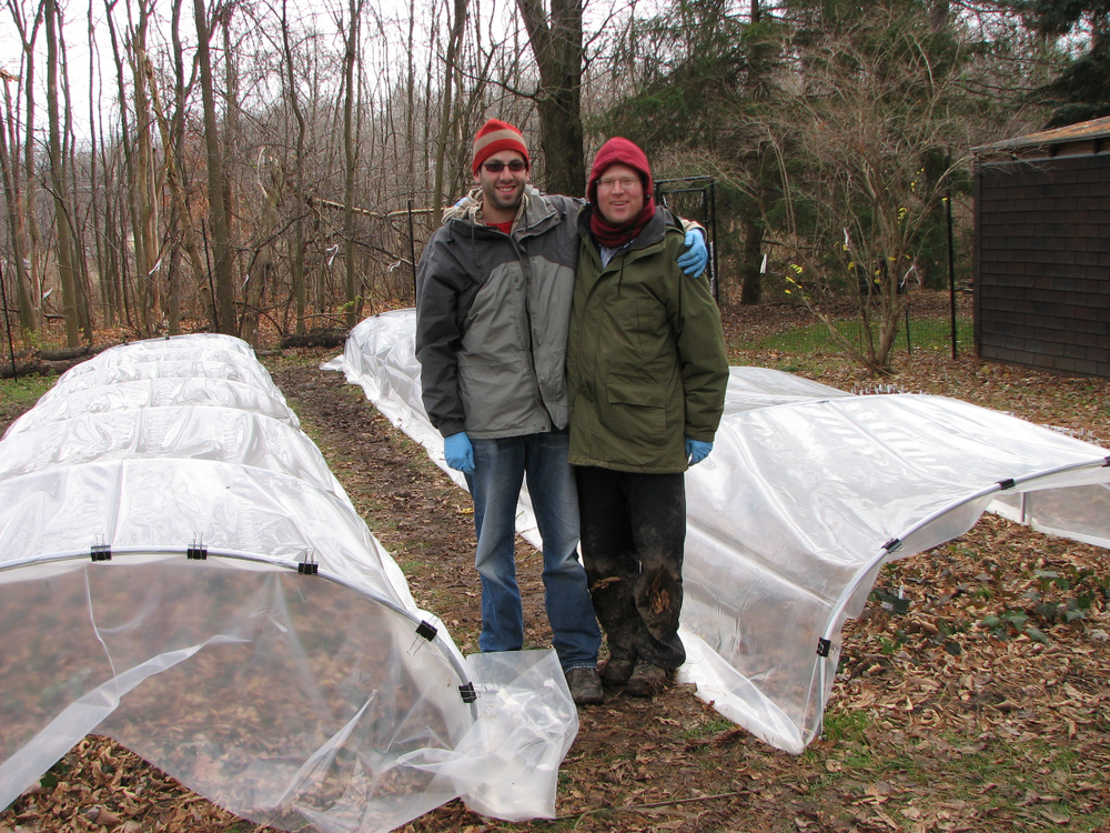 Homemade cold-frames
