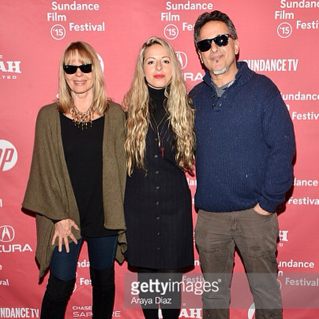 Director @crystalmoselle on the @sundanceinstitute carpet with her (proud) parents #thewolfpackfilm