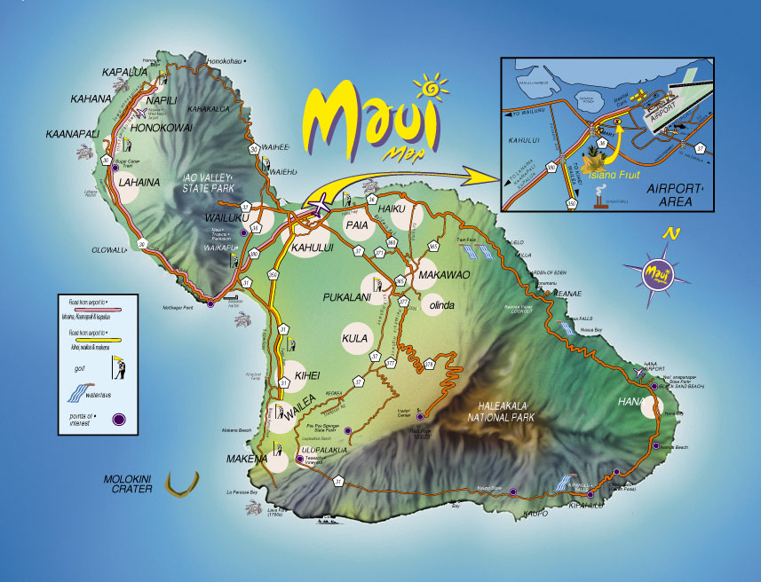 Mahalo to Blue Water Rafting for this map.  Go visit them at  BlueWaterRafting.com .