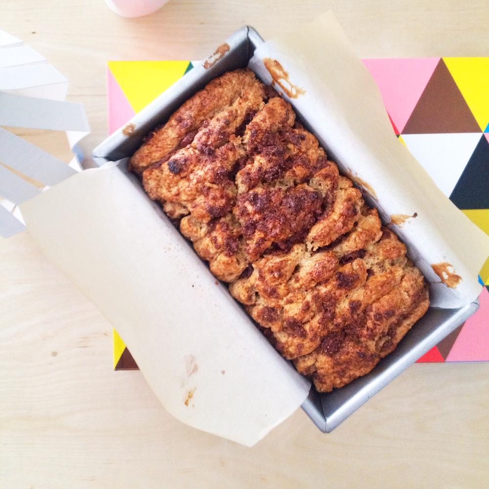 Cinnamon Scone Bread. The brilliant brainchild of Food52's mrslarkin. Wowza!