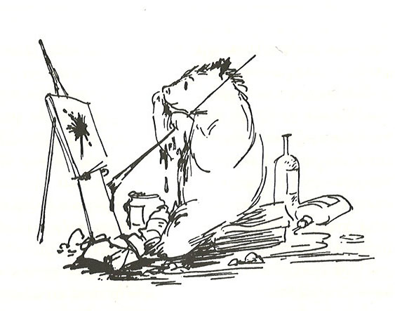 """""""I think I may paint a family portrait now. That is, if I have enough paint left for all the smiles."""" - Paddington"""