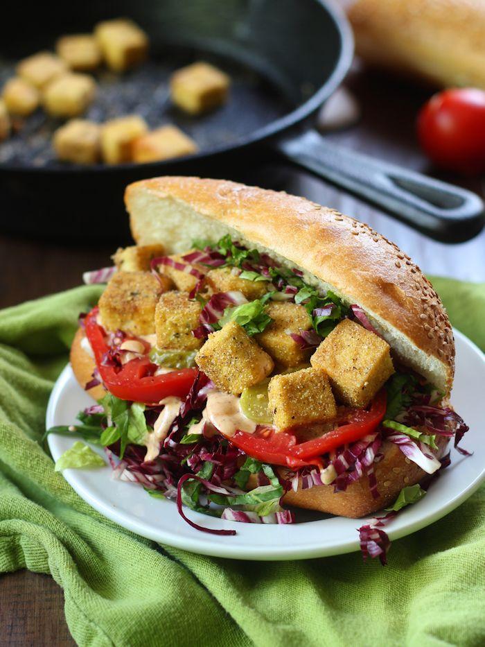 Tofu Po' Boy Sandwich