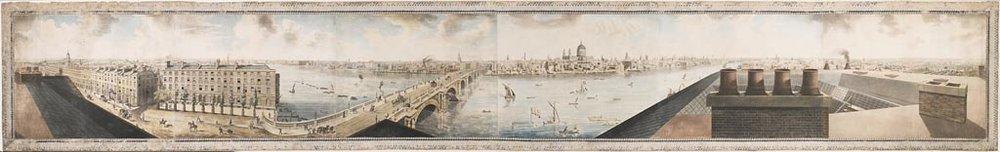 Robert BarKer - Panorama de Londre