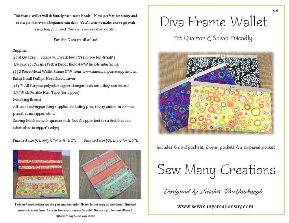 Diva Frame Wallet — Maxie Makes