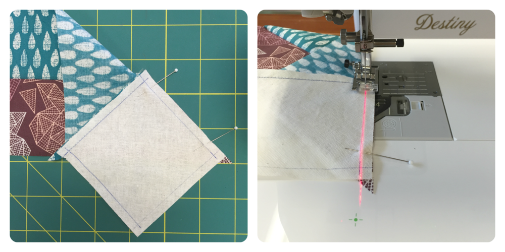 Sewing a 'Y Seam'