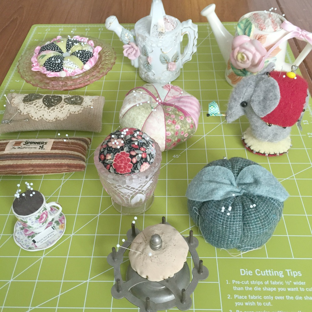 My pincushion collection.