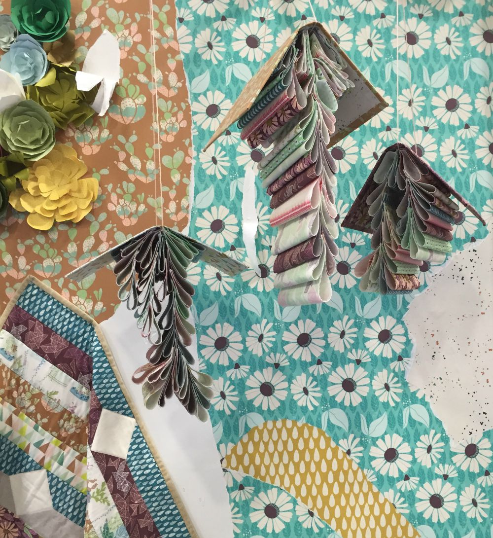 Succulance Fabrics by Bonnie Christine for Art Gallery at Quilt Market.