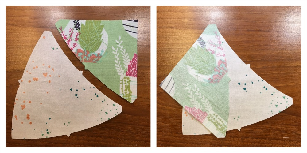 Sewing Curved Seams in a Quilt