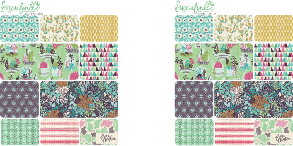 Succulence Fabrics Line by Bonnie Christine for Art Gallery Fabrics
