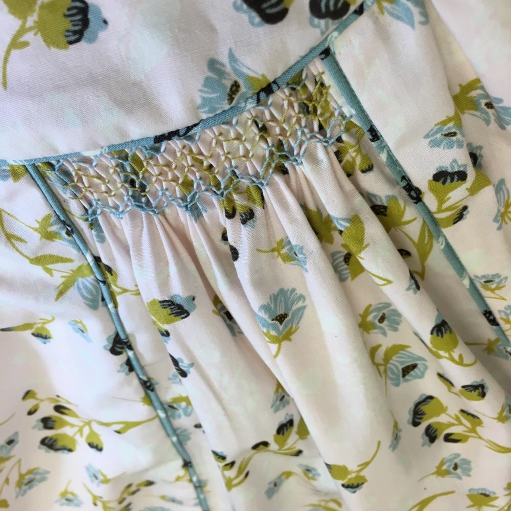 Smocking Bonnie Christine's Fabric
