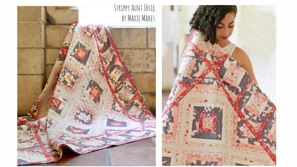 Photos by Art Gallery Fabrics for  Hello, Ollie's Lookbook.  Fabrics by  Bonnie Christine