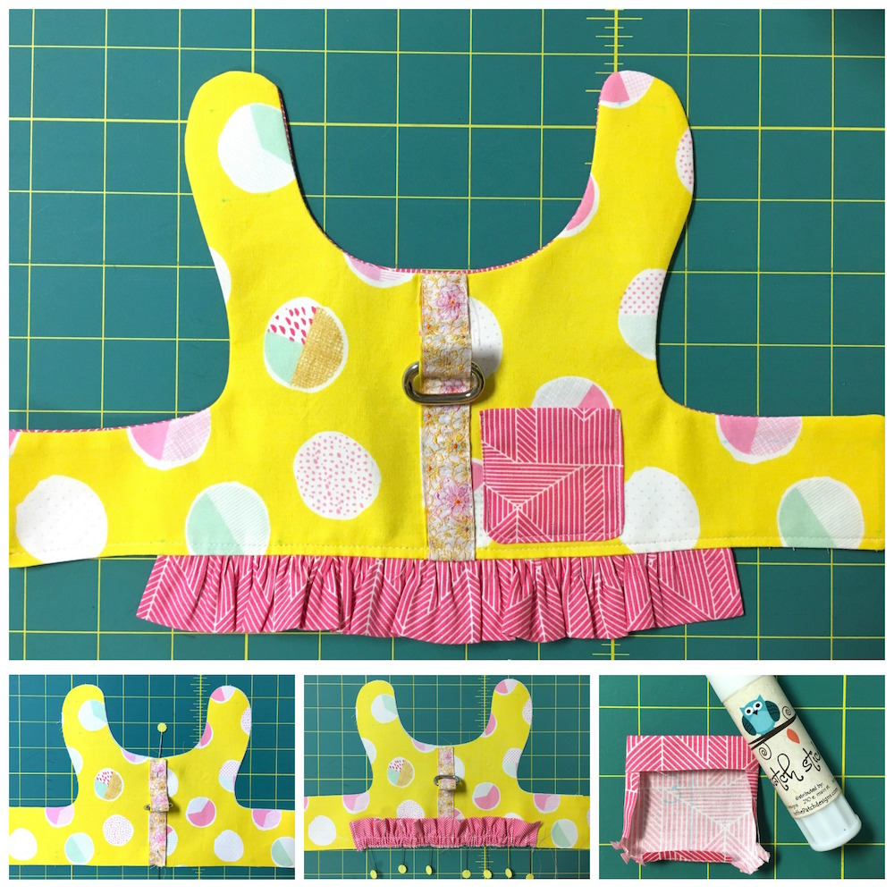Making a Doggie Dress with Cricut Maker