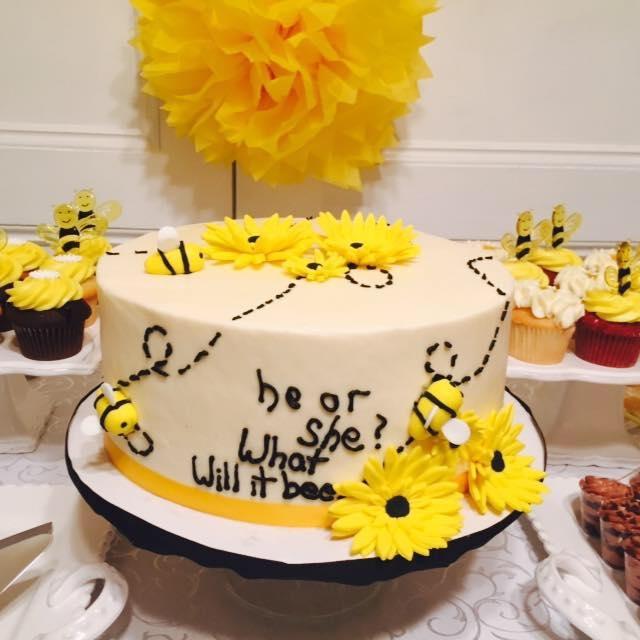 Bee Theme Cake.JPG