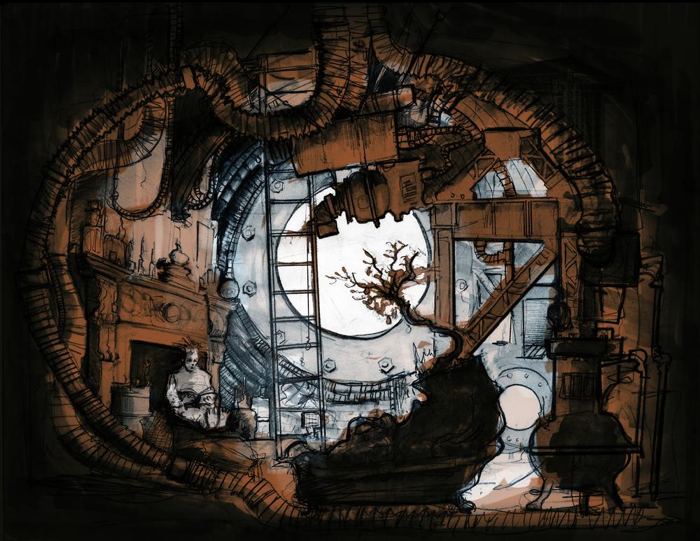 Illustration by: Production Designer Kit Stølen