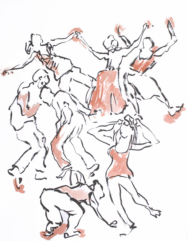 Dancing Brush 31