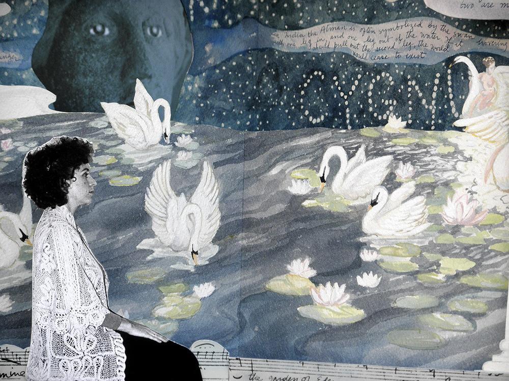 Swan (detail)