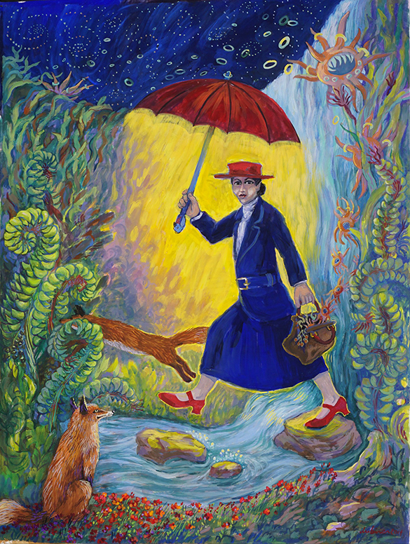 Red Shoes Mary Poppins