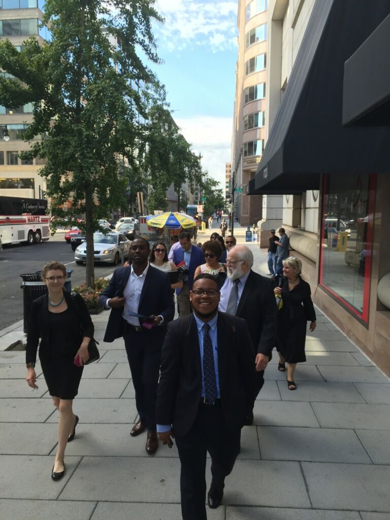 The #US2020CityNetwork walking through D.C.