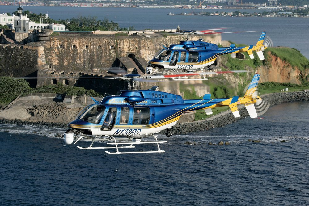 Bell 407 helicopters that use the M250 engines.