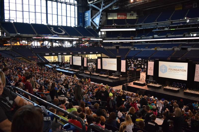 2018 Indiana VEX Robotics State Championship — TechPoint Foundation