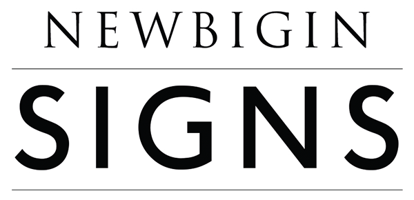 Newbigin SIGNS