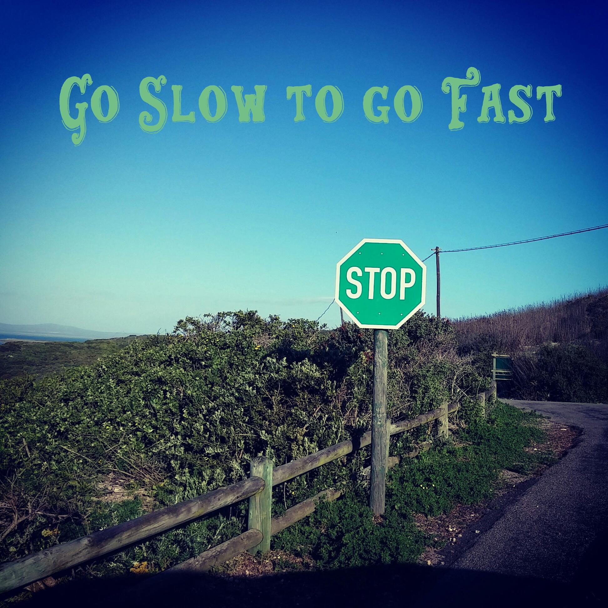 Slow signpost