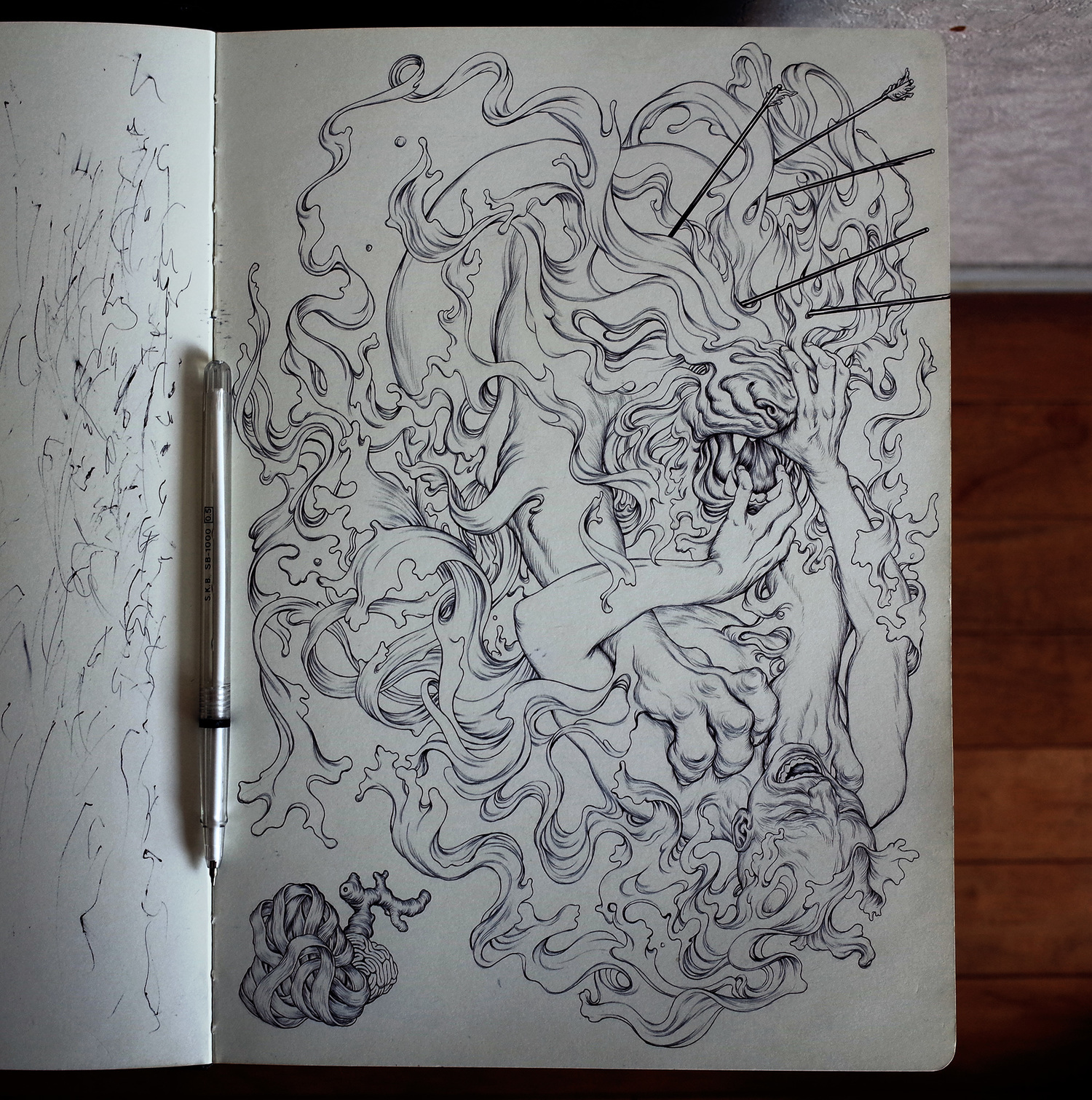 Huntingparty sketchbook photo webres jpg