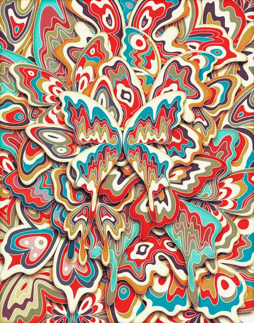 Butterfly Swarm 3